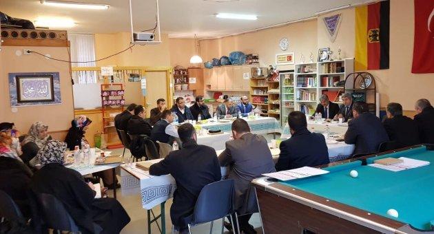 Berlin Din Hizmetleri Ataşeliği Aylık Din Görevlileri Toplantısı DİTİB Muradiye Camii'nde Yapıldı.