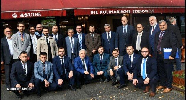 Berlin Din Hizmetleri Ataşeliği Camiler ve Din Görevlileri Haftası 2019 Yılı, Din Görevlileri Buluşması Asude Restaurant'ta Yapıldı