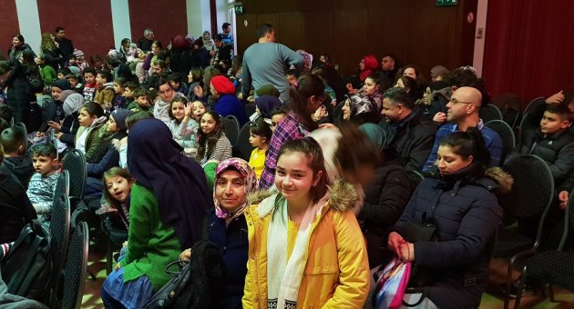 Camilerimizde Hafta sonu Eğitime Gelen Öğrencilerimiz Tiyatro İle Ödüllendirildi.