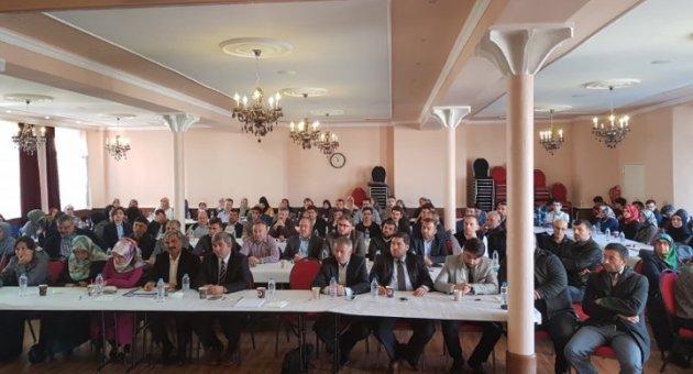 DİTİB Berlin Dernek Yönetimleri İstişare Toplantısı Merkez Camii Konferans Solanunda Yapıldı.