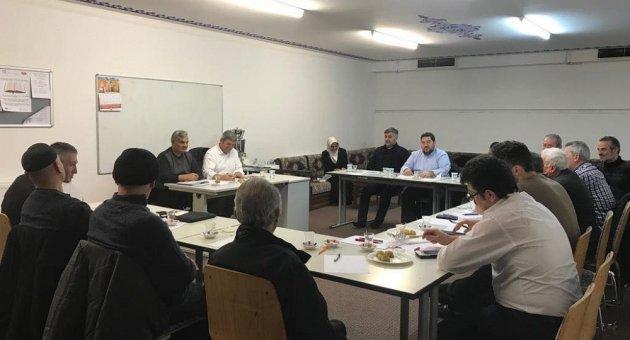 DİTİB Cami Dernek Başkanları Toplantısı Kocatepe Camiinde Yapıldı.