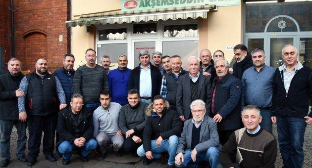 DİTİB Dernek Başkanları Toplantısı Akşemsettin Camiinde Yapıldı.