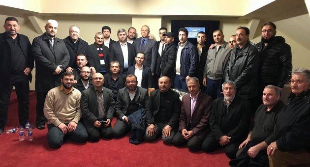 DİTİB Leipzig Eyüp Sultan Camii Din Görevlisi Yücel Tatlı'ya Vefa/Veda Programı Tertip Edildi.