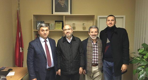 Süleyman Demirel Üniversitesi İlahiyat Fakultesi Dekanı ve Hocaları Ataşeliğimizi Ziyaret etti.